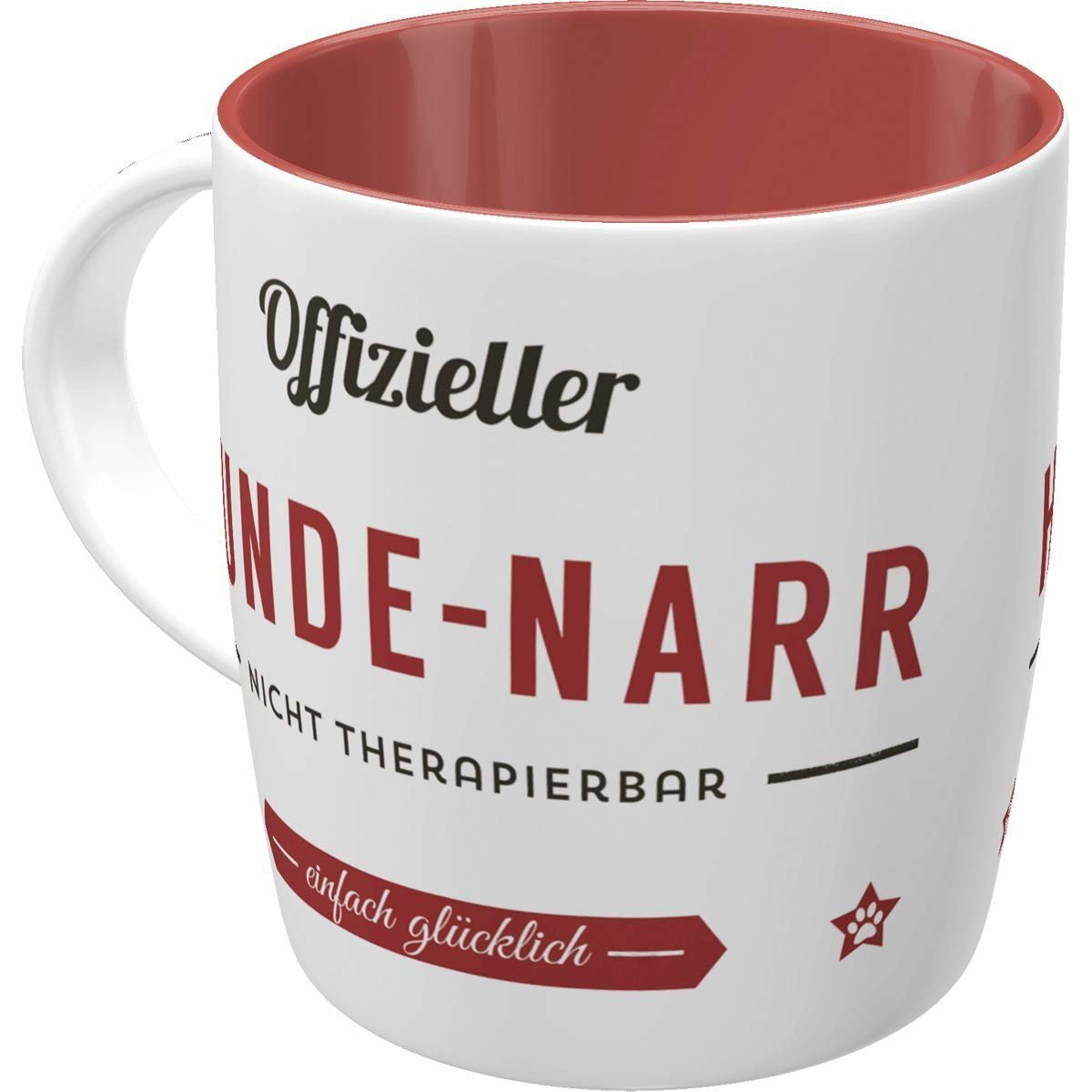 Nostalgic-Art Kaffee-Becher Hunde-Narr