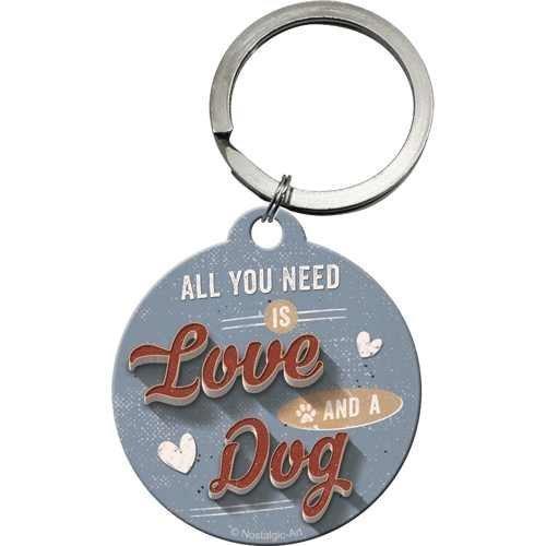 Nostalgic-Art Love Dog, Schlüsselanhänger