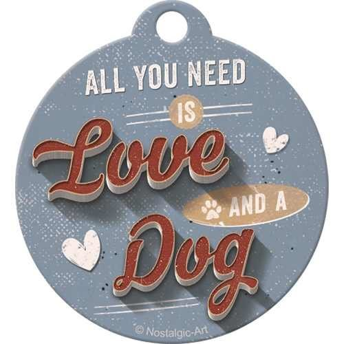 Nostalgic-Art Love Dog, Schlüsselanhänger, Bild 2