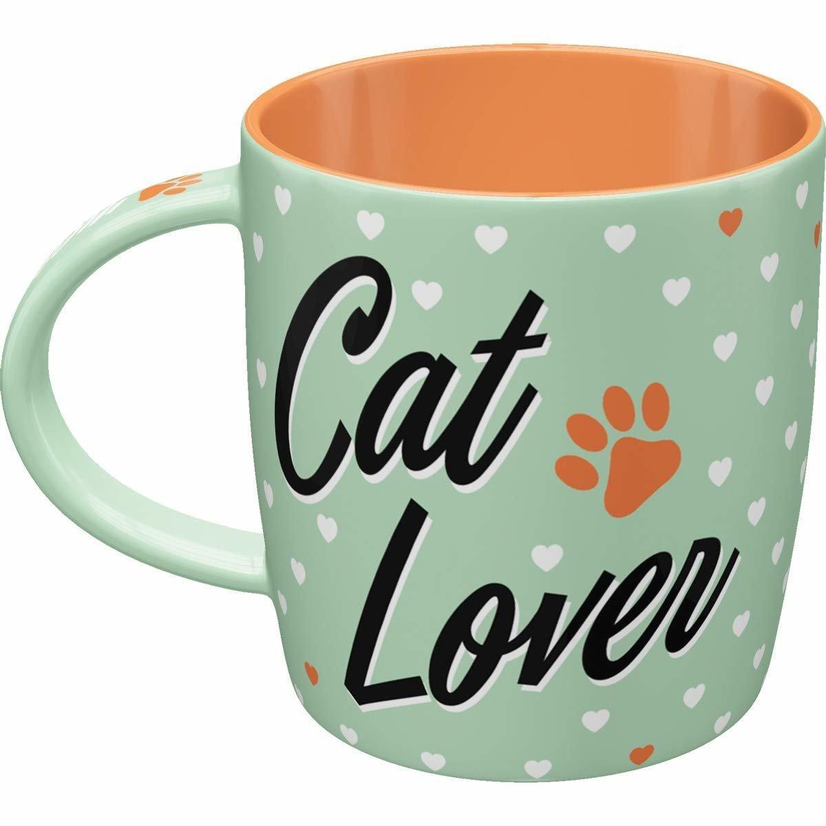 Nostalgic-Art Tasse Cat Lover, Bild 3