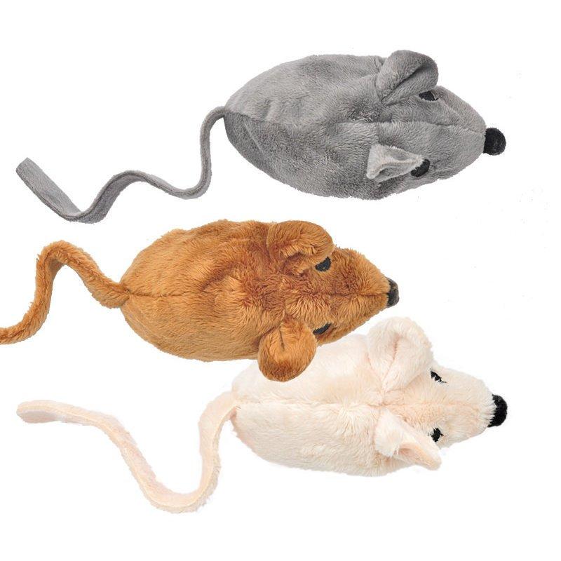 Aumüller Ökologische Katzenspielmaus Baldi mit Baldrian Effekt, Bild 3