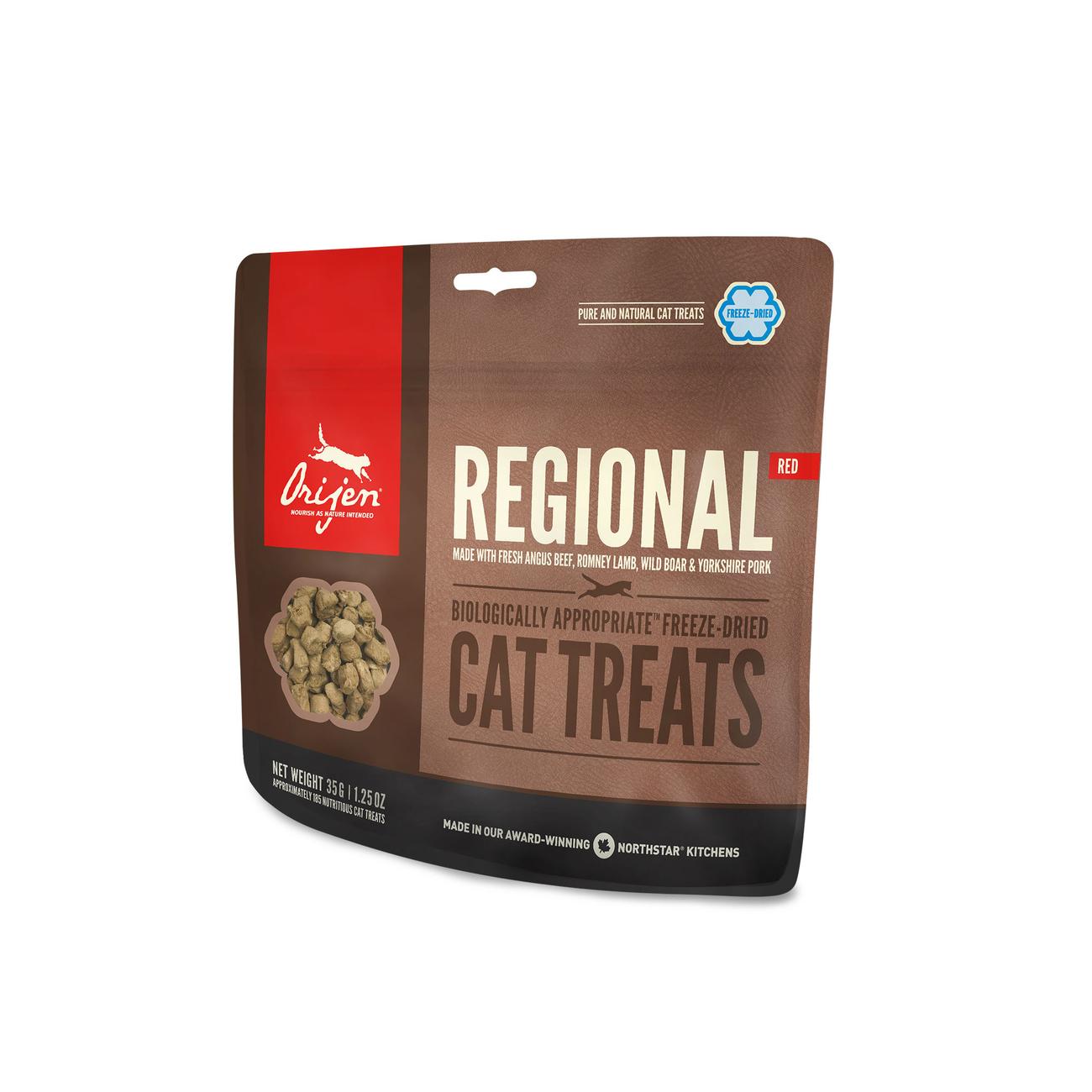 Orijen gefriergetrocknete Katzen Leckerli, Regional Cat 35g