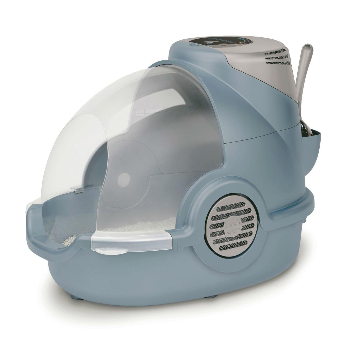 Oster Bionaire Geruch entfernende Katzentoilette, Komplettset, 66x36x47cm