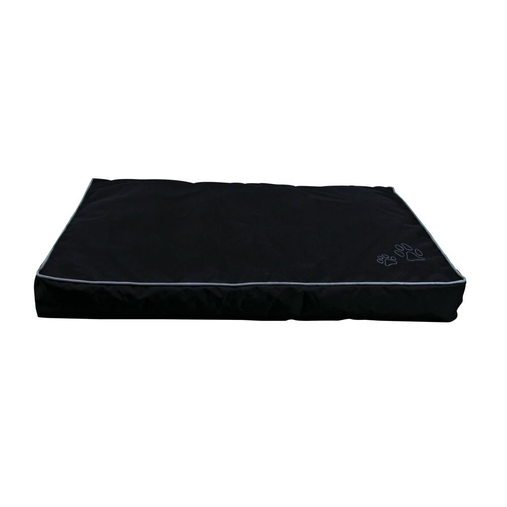 Trixie Outdoor Hundekissen Drago, 90 × 65 cm, schwarz