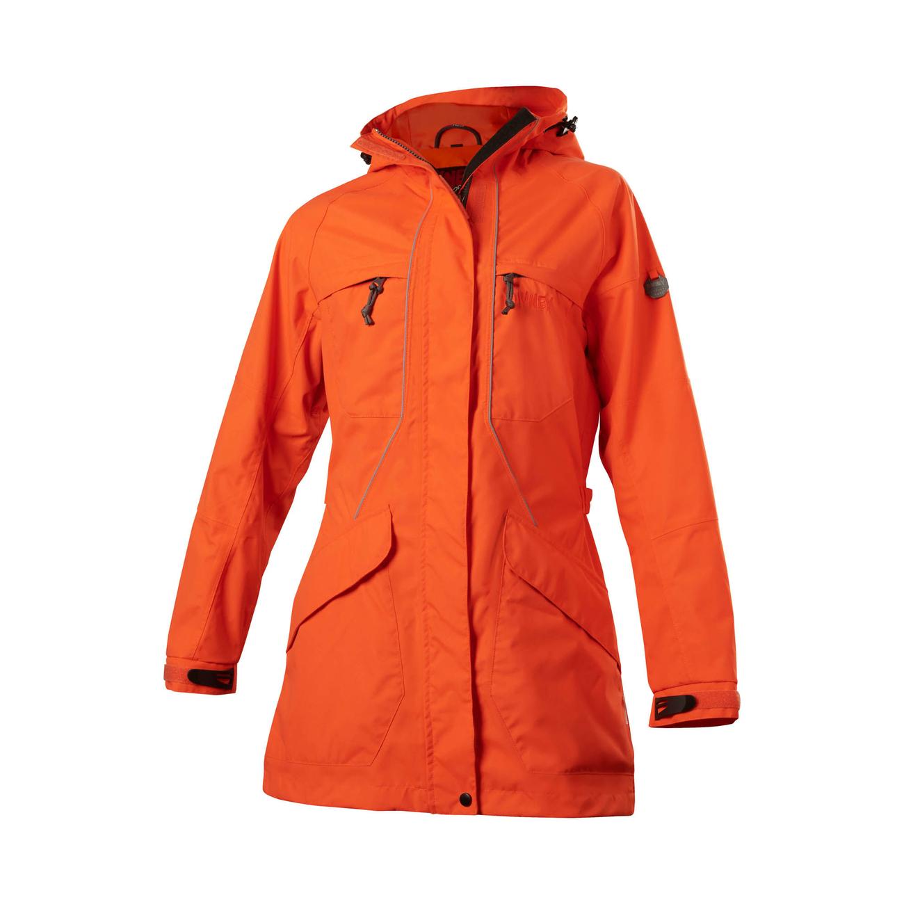 Owney Outdoor Parka für Damen Tuvaq, L, orange