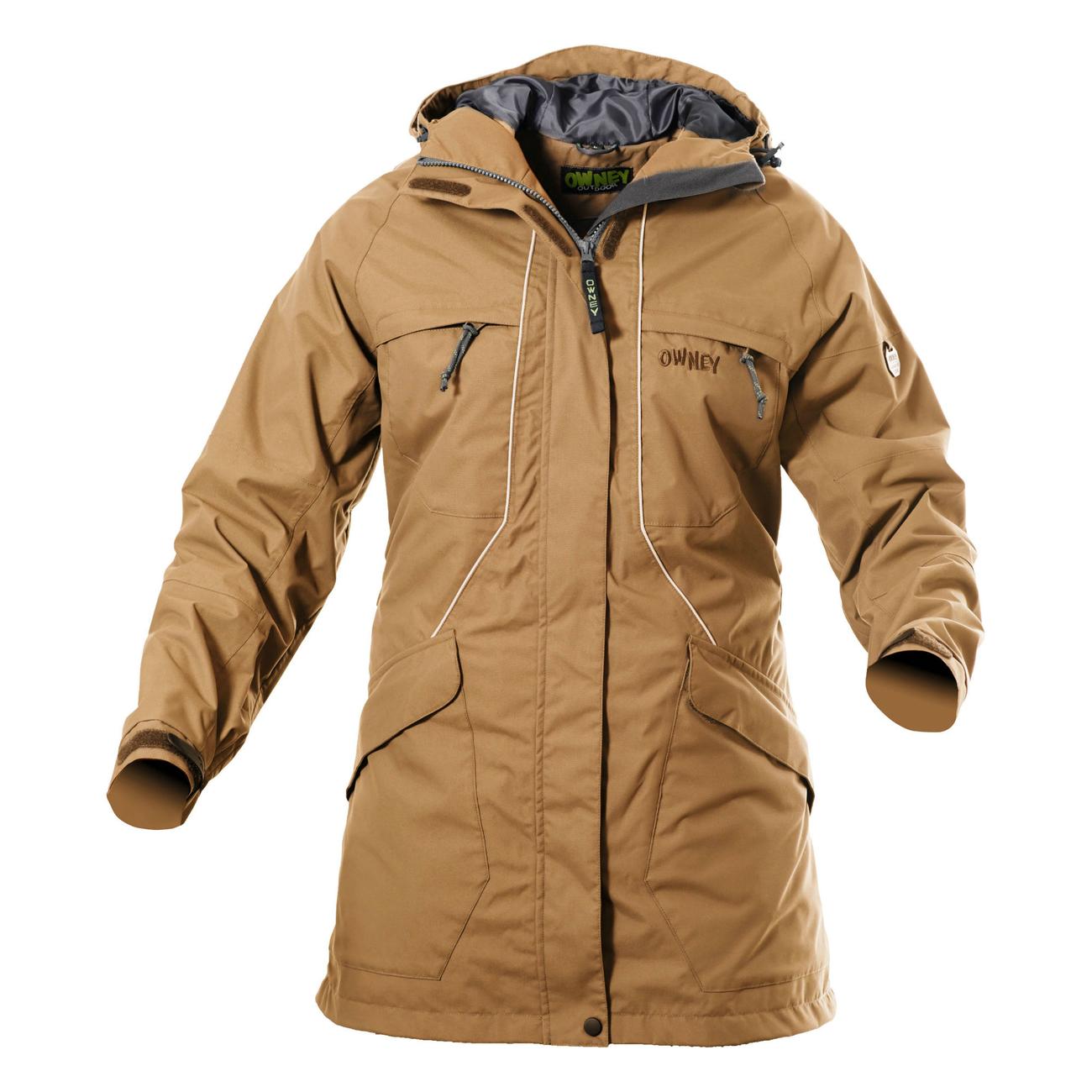 Owney Outdoor Parka für Damen Tuvaq, XL, beige