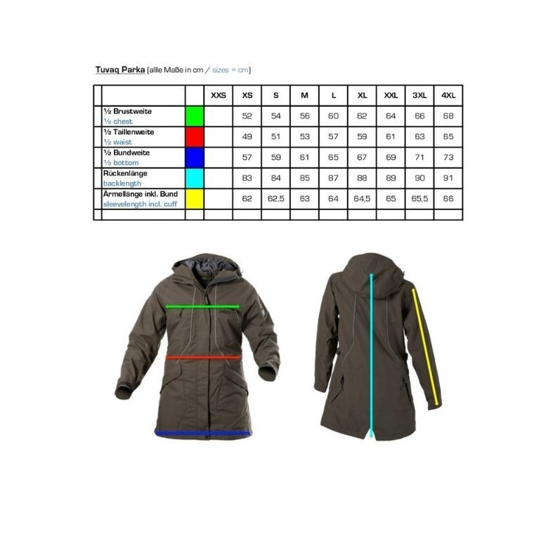 Owney Outdoor Parka für Damen Tuvaq, Bild 8