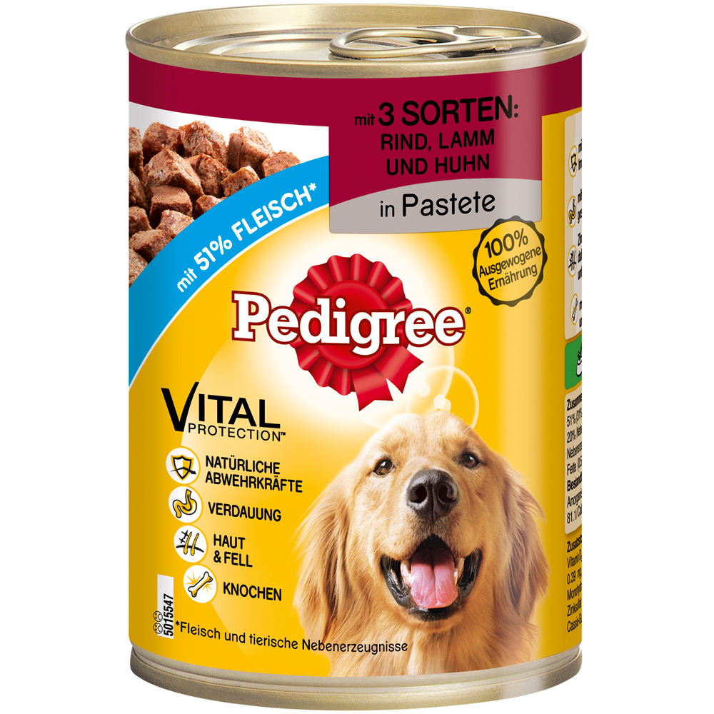 Pedigree Classic Adult Hundefutter Dosen, Bild 3