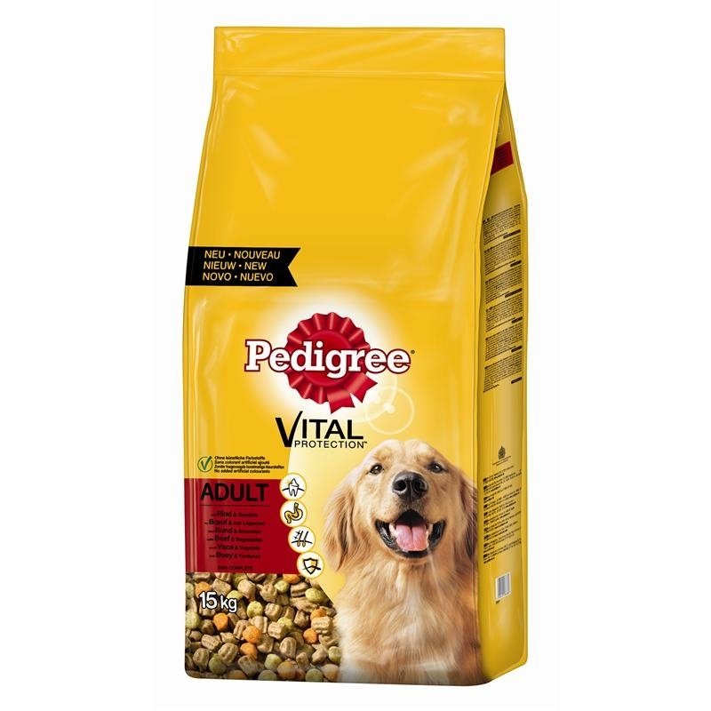 Pedigree Hundefutter Trocken Adult mit Rind & Gemüse, Bild 4