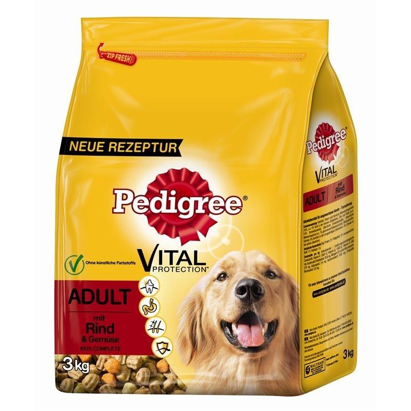 Pedigree Hundefutter Trocken Adult mit Rind & Gemüse, Bild 2