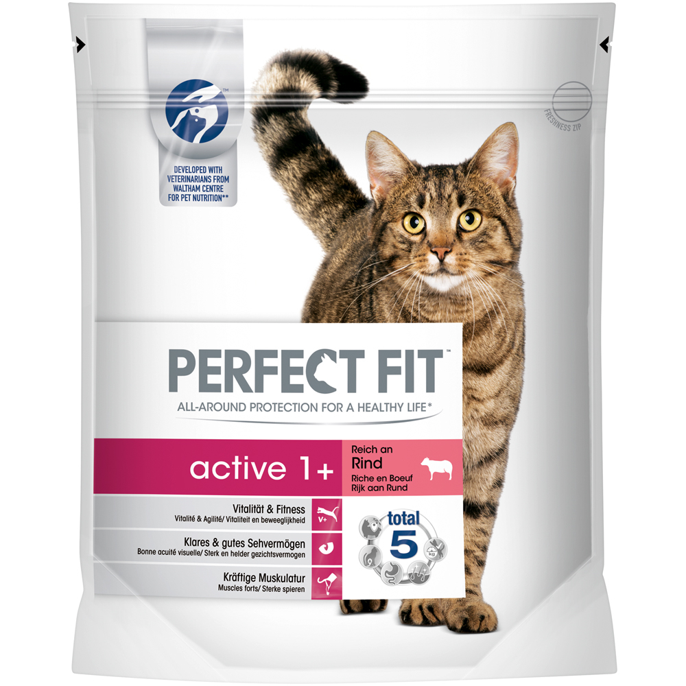 Perfect Fit Active 1+ reich an Rind - Trockenfutter
