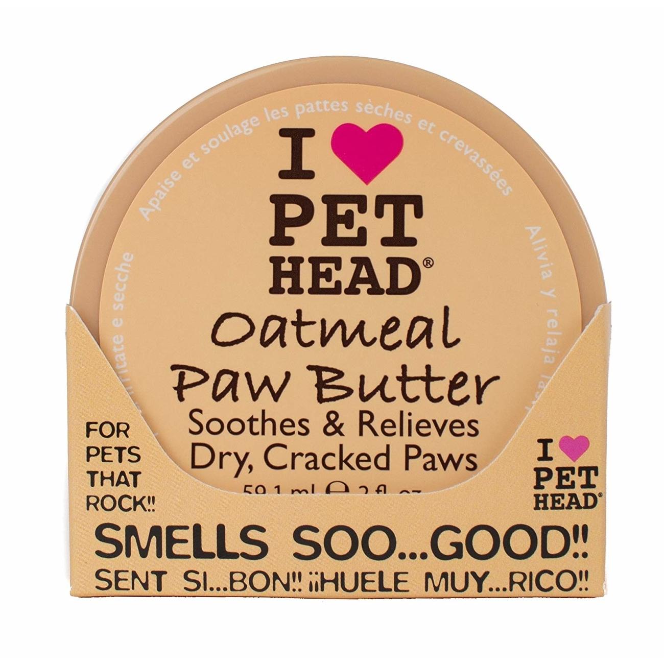 PET HEADHafermehl Pfoten Butter für Hunde, 59 ml
