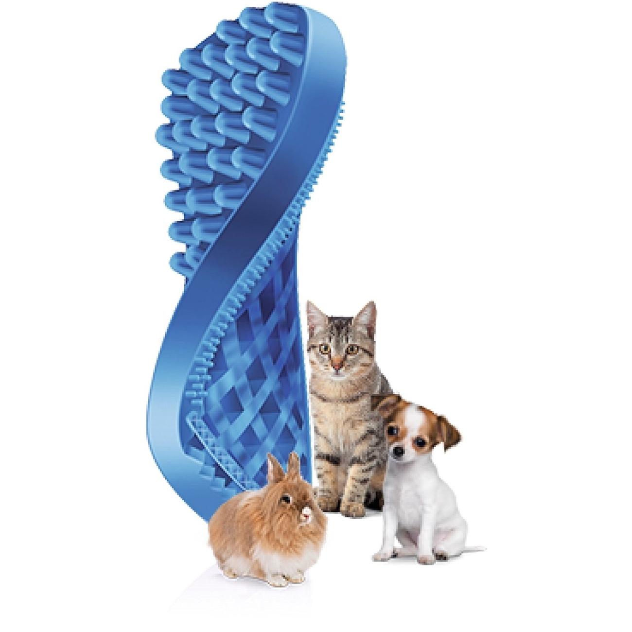 pet+me Reinigungsbürste Massagebürste für Haustiere, Bild 6