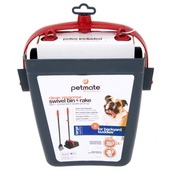 Petmate Clean Response Kotschaufel mit Rechen, Bild 3