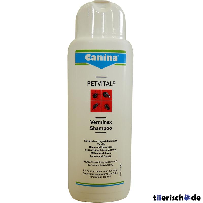 Canina Pharma PETVITAL Verminex Shampoo, 250 ml