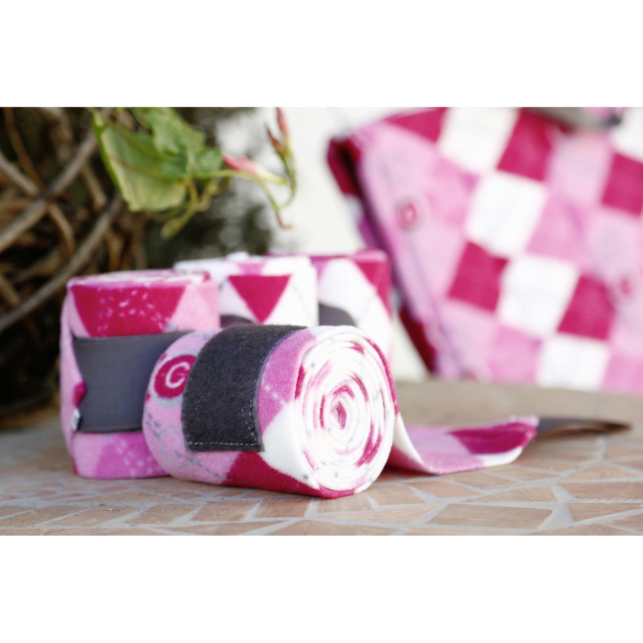 Covalliero Pferde Fleece-Bandage Lilli für Pony, Bild 3