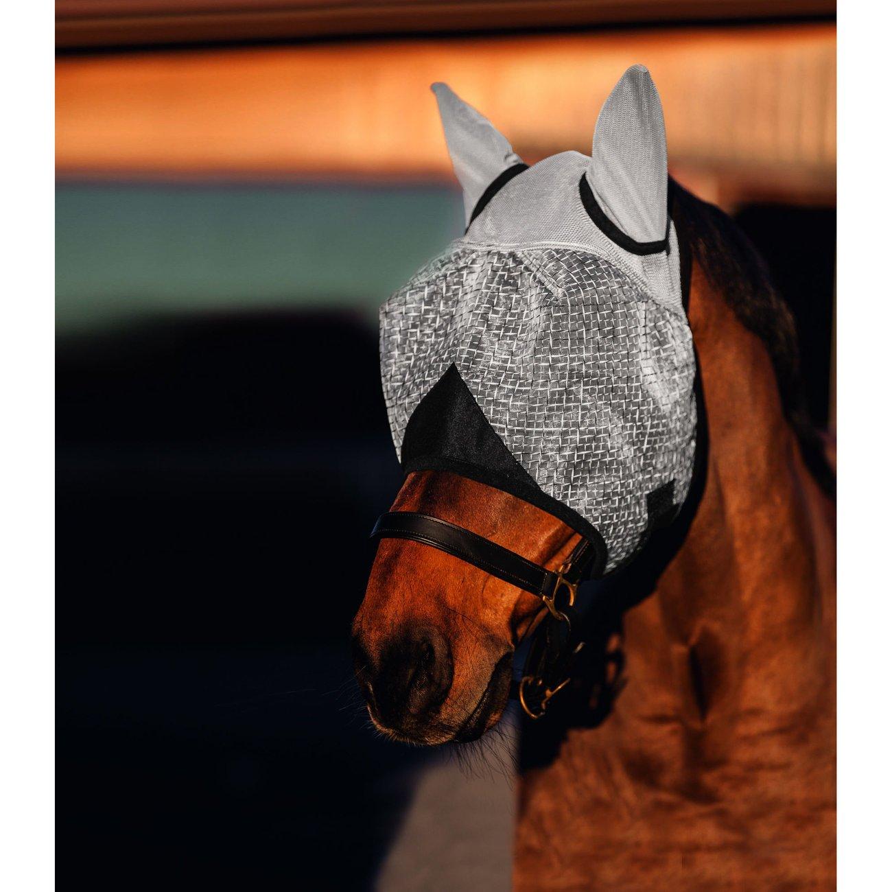 Covalliero Pferde Fliegenmaske mit Ohrenschutz, Bild 2