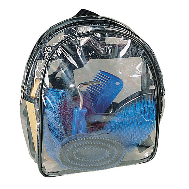 Kerbl Putz-Rucksack für Kinder 8-teilig befüllt, Bild 3