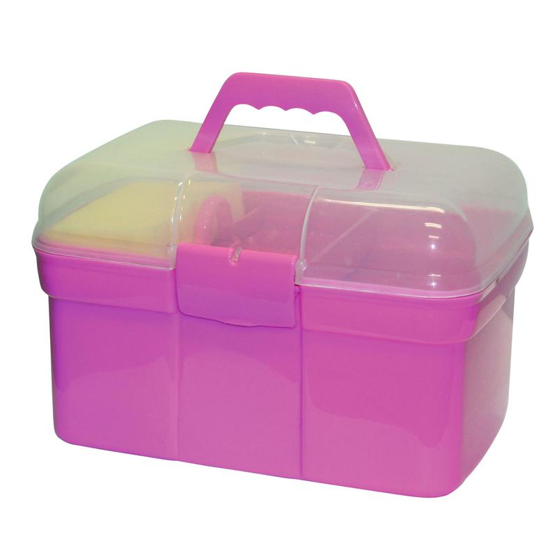 Kerbl Pferde Putzbox für Kinder befüllt, Bild 2