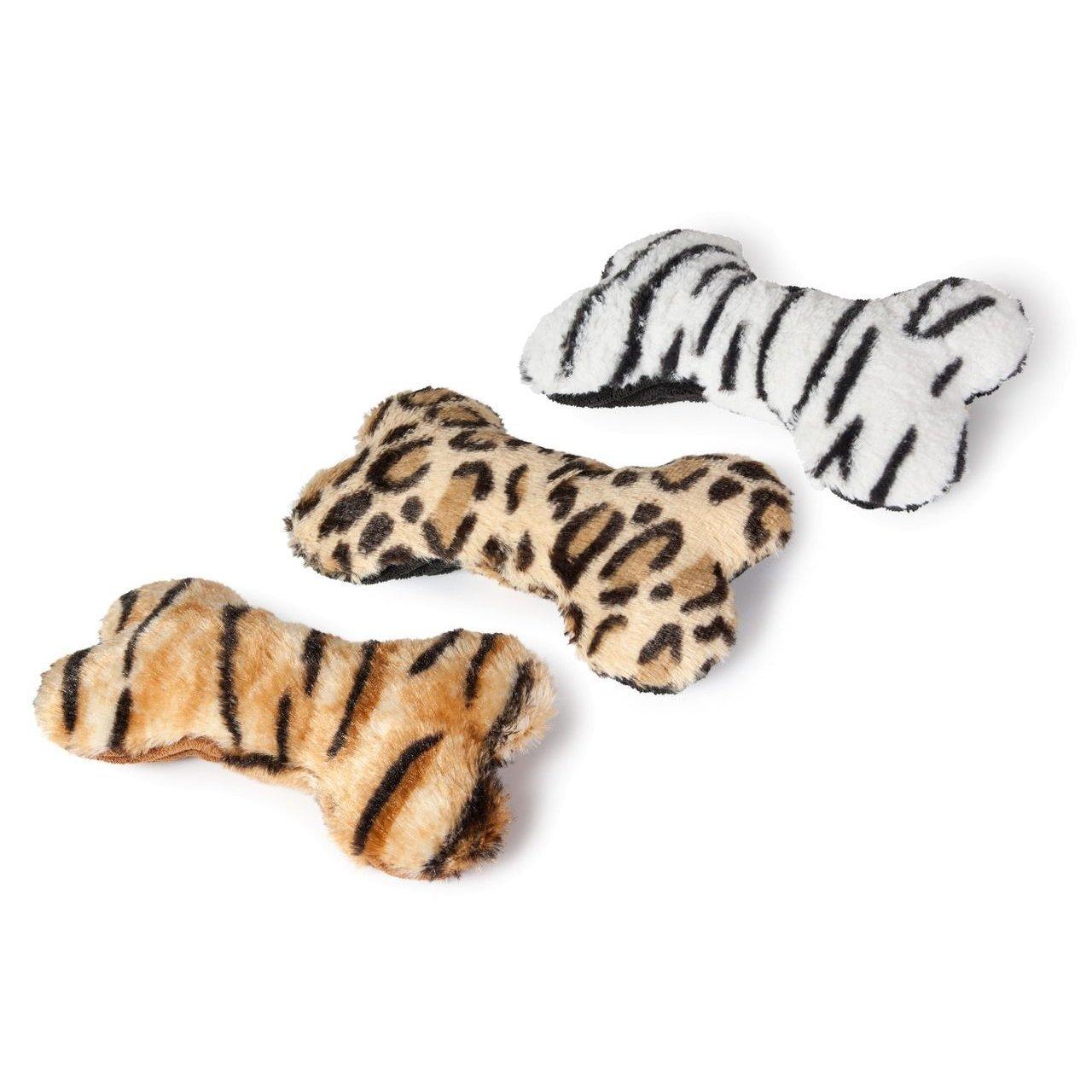 Karlie Plüschknochen Safari für Hunde