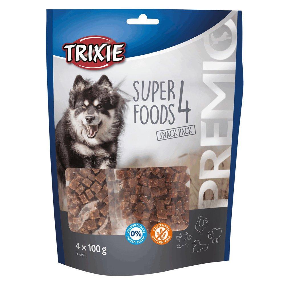 Trixie PREMIO 4 Superfoods Hundesnacks 31854