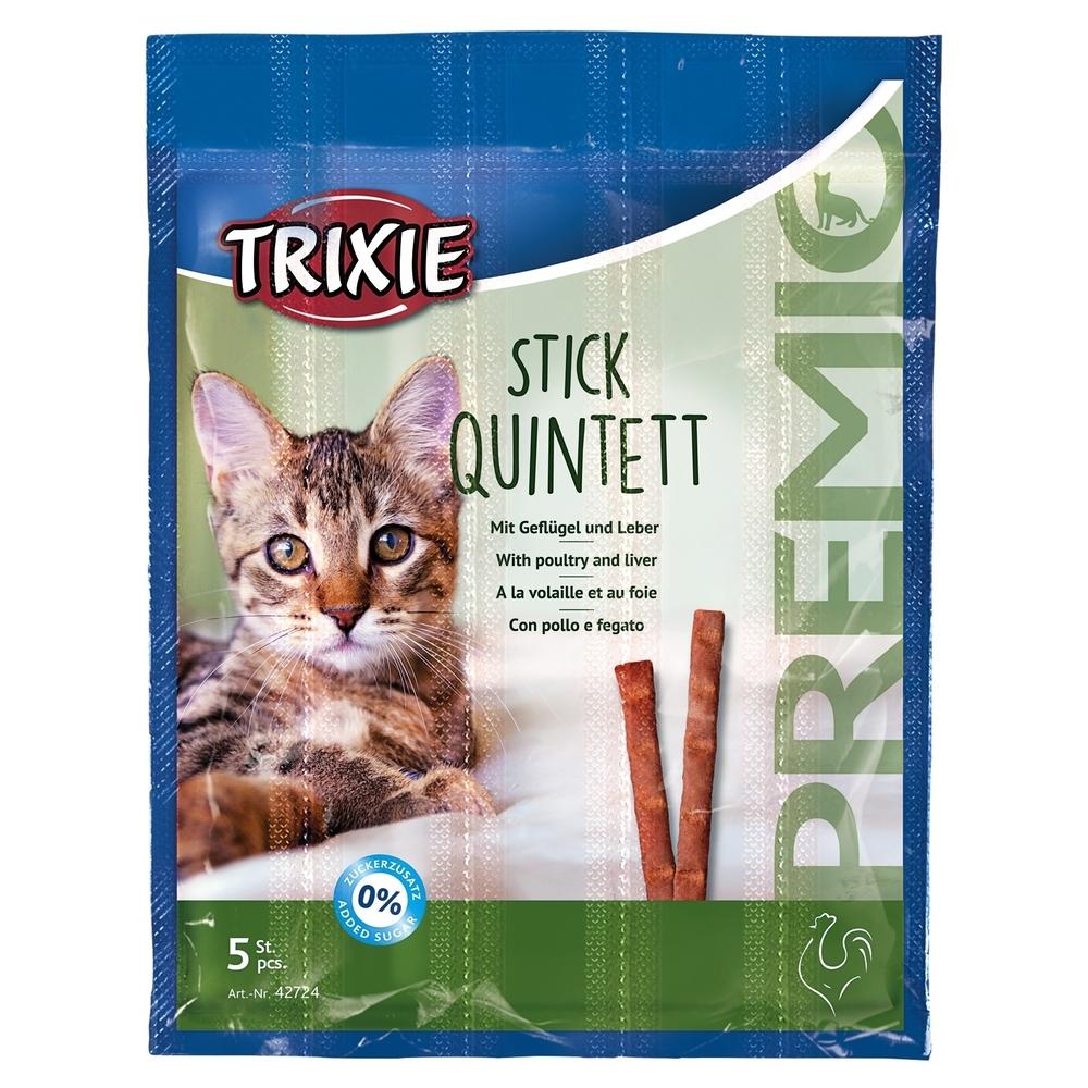 Trixie PREMIO Stick Quintett Katzensnack 42724