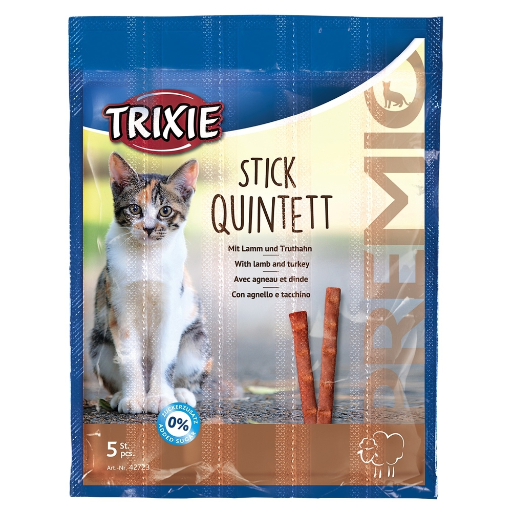Trixie PREMIO Stick Quintett Katzensnack 42724, Bild 3