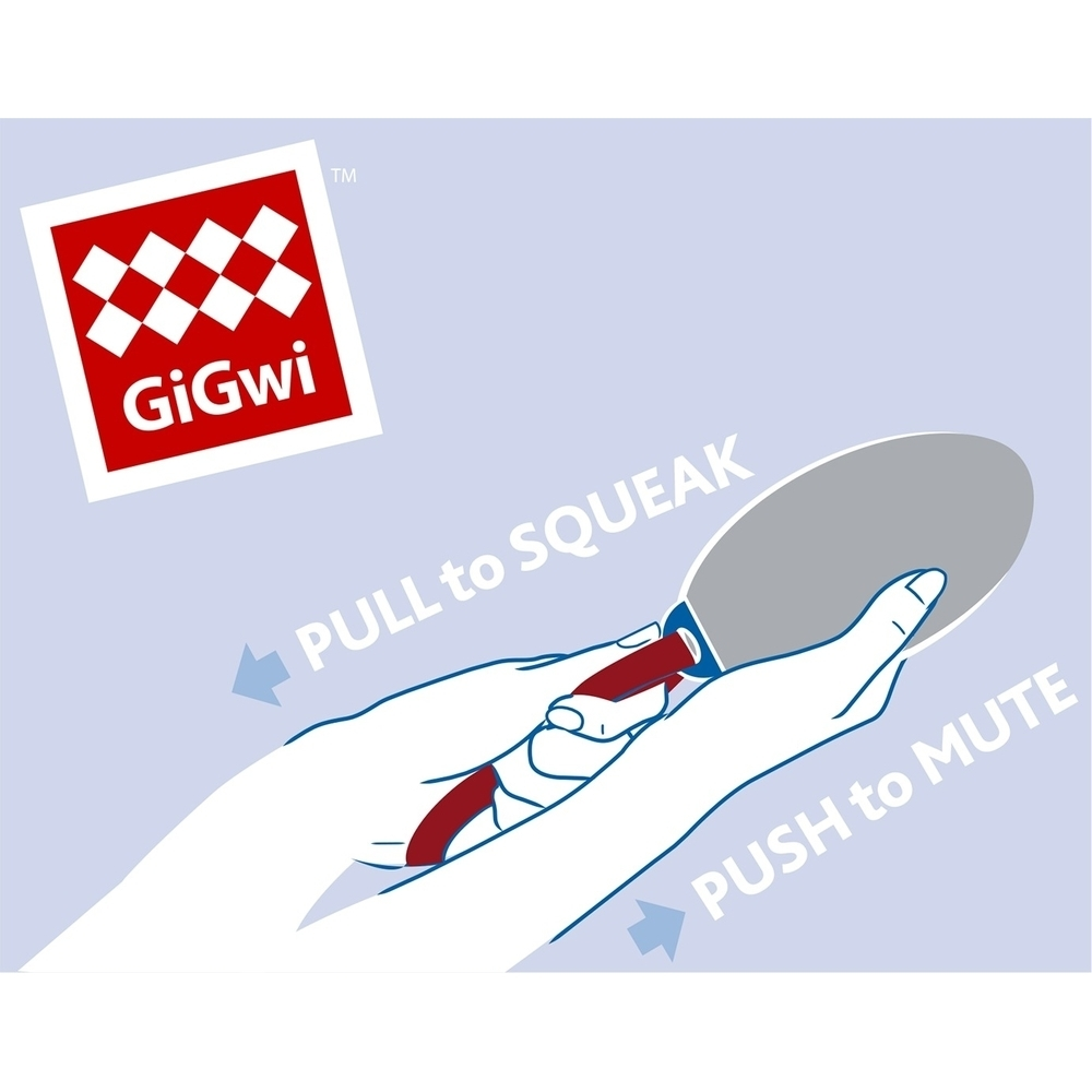 GiGwi Push to mute, Hunde Football mit Schlaufe 33550, Bild 3