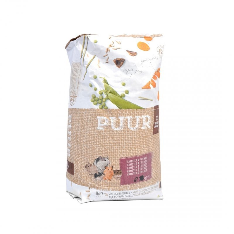 EBI Puur Hamsterfutter, 8 kg