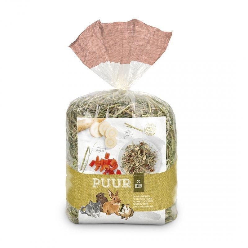 EBI Puur Heu, Wiesenheu mit Gemüse, 500 g