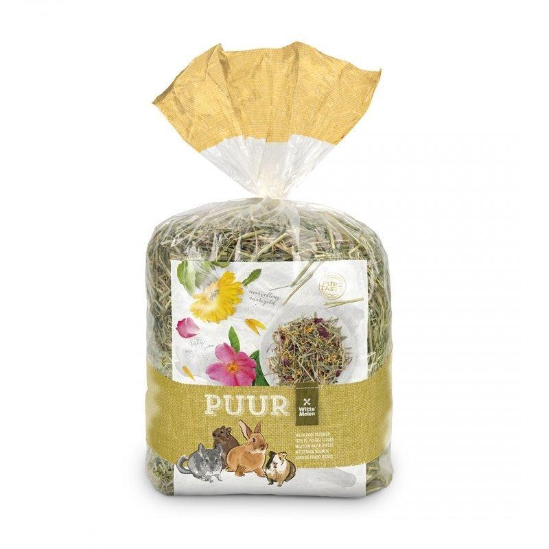 EBI Puur Heu, Wiesenheu mit Blüten, 500 g