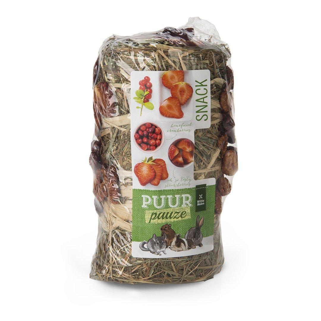EBI Puur Pauze Heurolle, Erdbeere & Moosbeere, 200 g