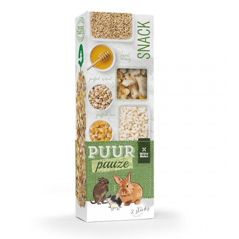 EBI Puur Pauze Snacksticks, Puffgetreidesticks, 110 g