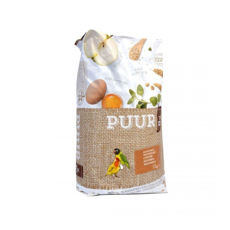 EBI Puur Vogelfutter für Agaporniden, 2 kg