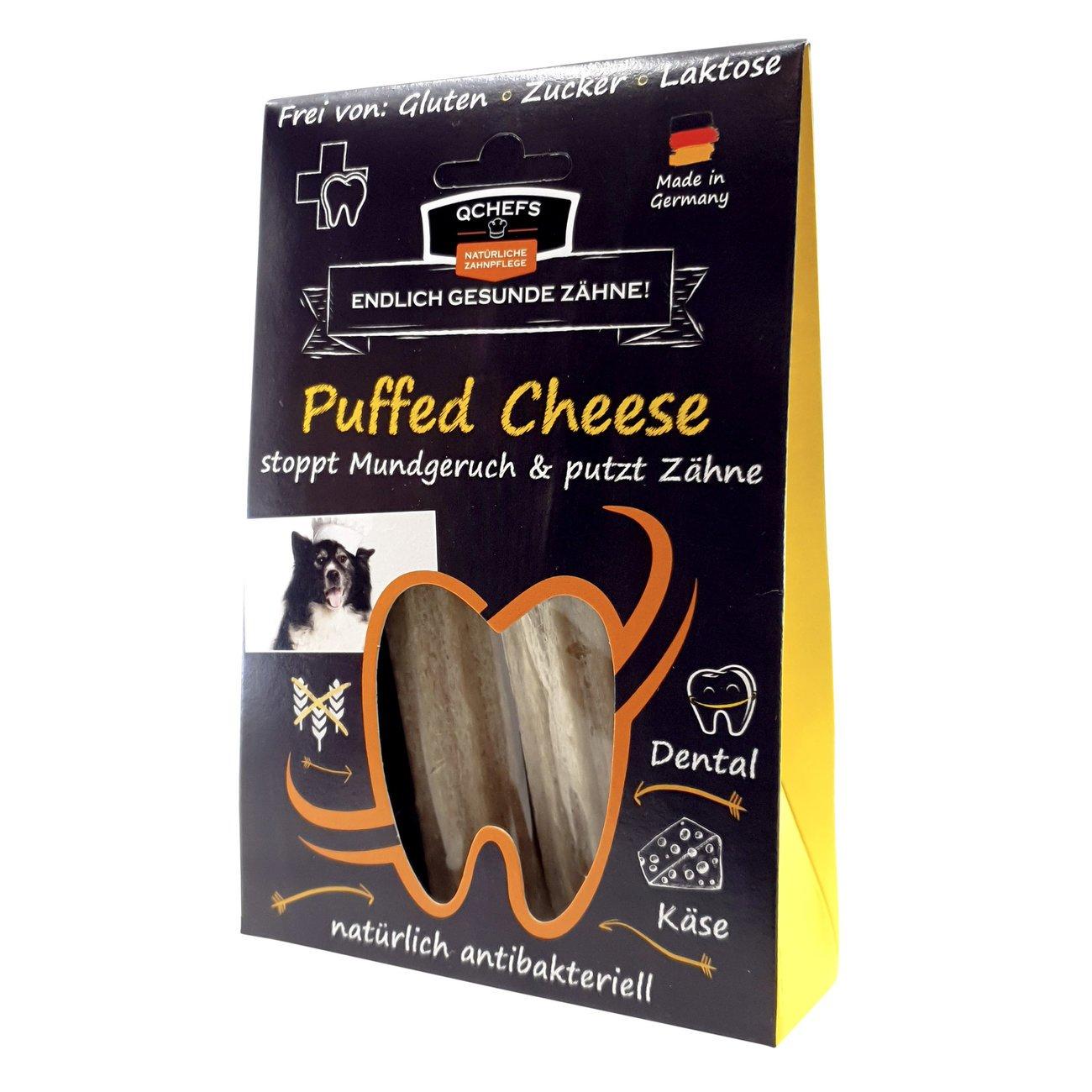 Qchefs Kauknochen Puffed Cheese, Bild 5