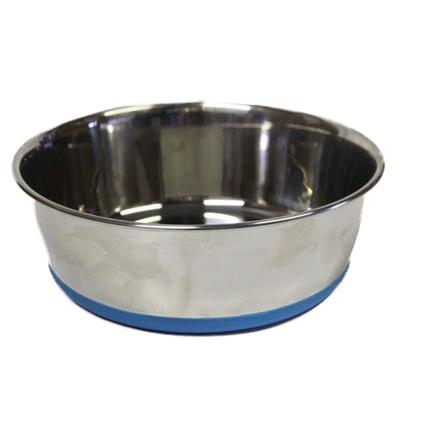 Rogz Bowlz Slurp, Hundenapf aus Edelstahl, Gr. XL - Blue - 3700 ml