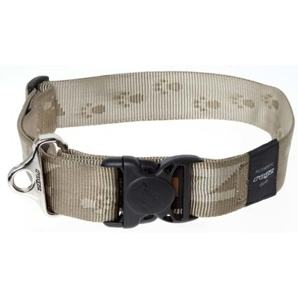 Rogz Big Foot Hundehalsband, XXL: Big Foot - gold
