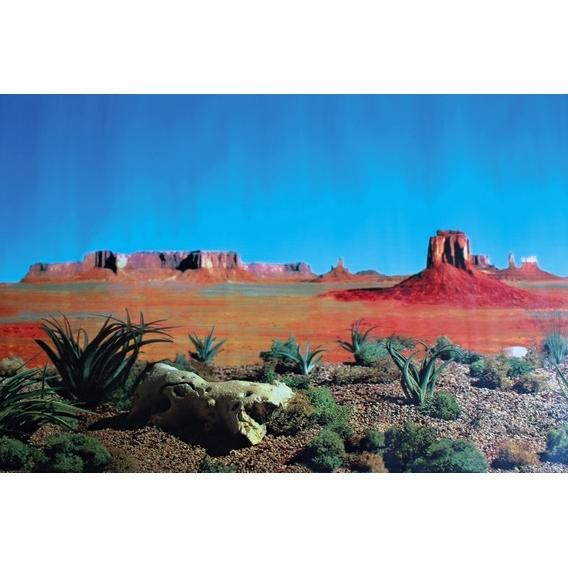 Trixie Terrarium Rückwand Wüste, beidseitig, Wüste/Steppe, 60 × 150 cm