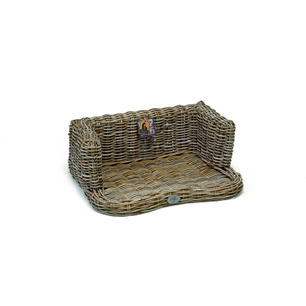 Beeztees Rattan Hundesofa York, S: 68 x 52 x 27 cm, ohne Kissen