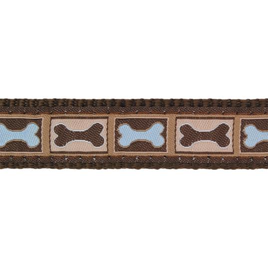 Red Dingo Halsband Design Bone Yard Brown, Bild 2