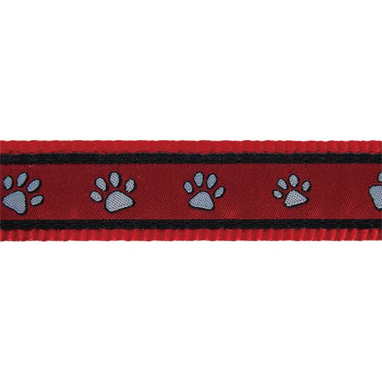 Red Dingo Hundehalsband Design Paw Prints, Bild 4