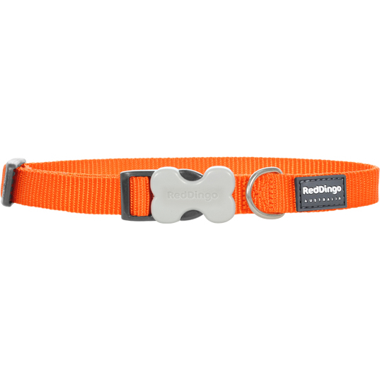 Red Dingo Hundehalsband einfarbig Uni, Bild 8