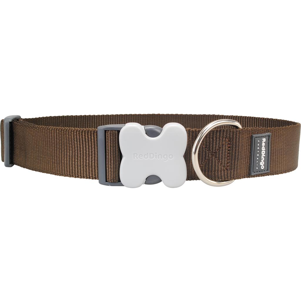 Red Dingo Hundehalsband GIANT Uni extra breit, Bild 3