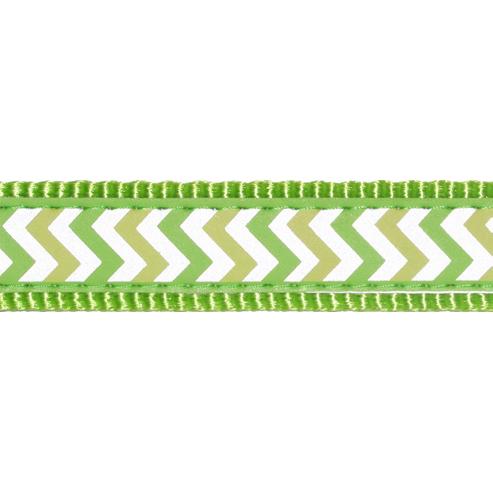 Red Dingo Hundehalsband Reflective Ziggy Lime Green, Bild 2