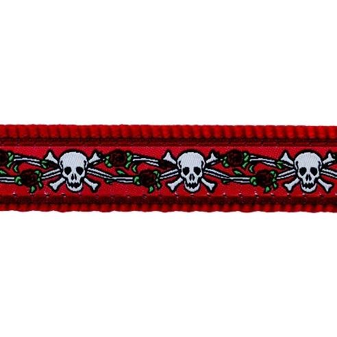 Red Dingo Hundeleine Design Skull Red, Bild 2