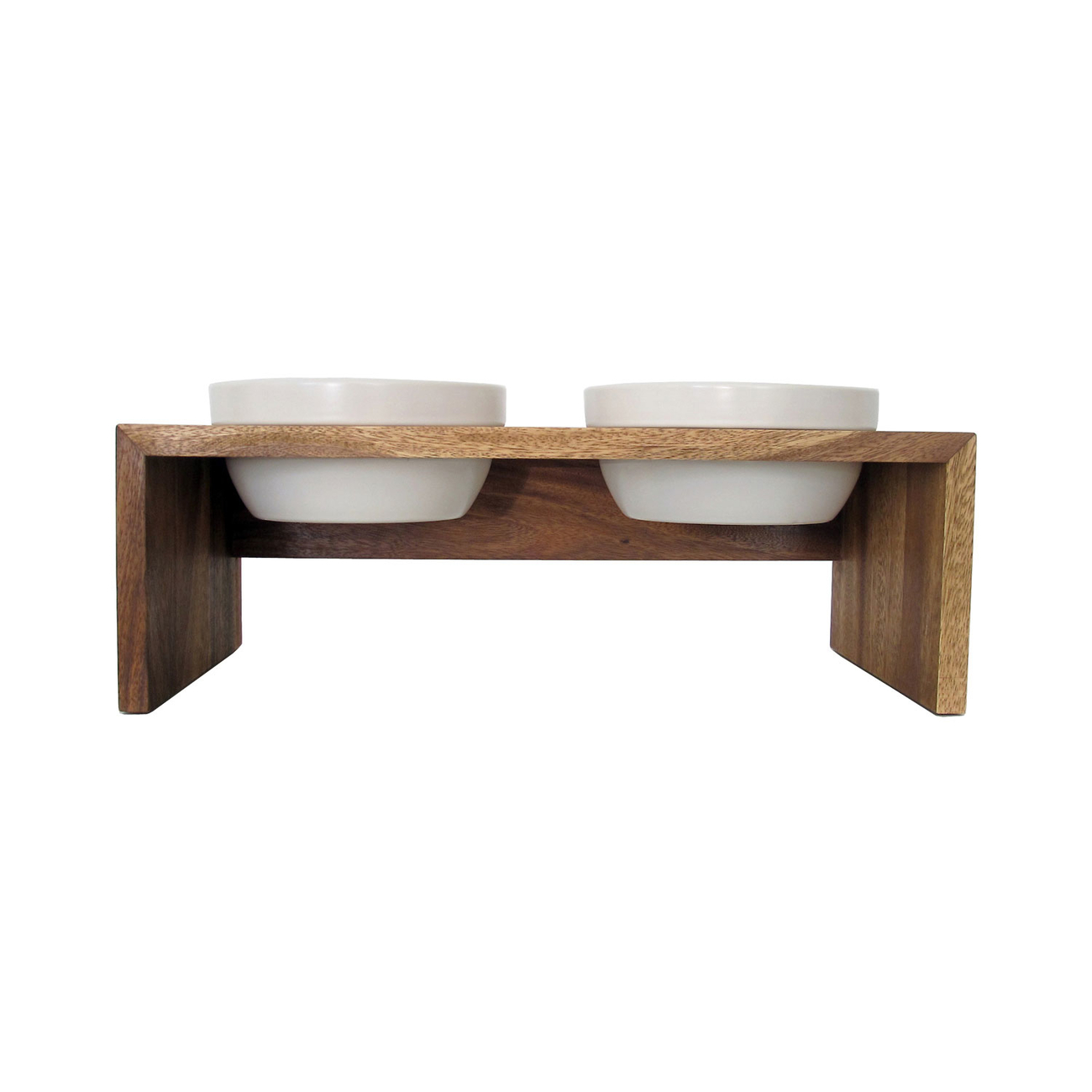 REPLUS Gohan Doppelnapf Holz, Bild 4