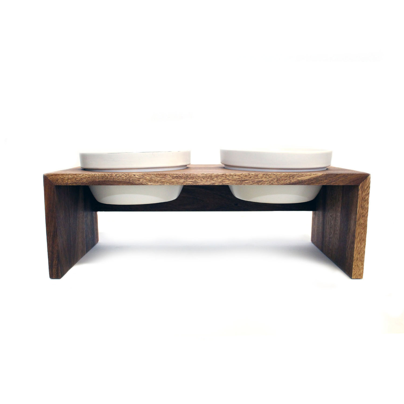 REPLUS Gohan Doppelnapf Holz, Bild 5
