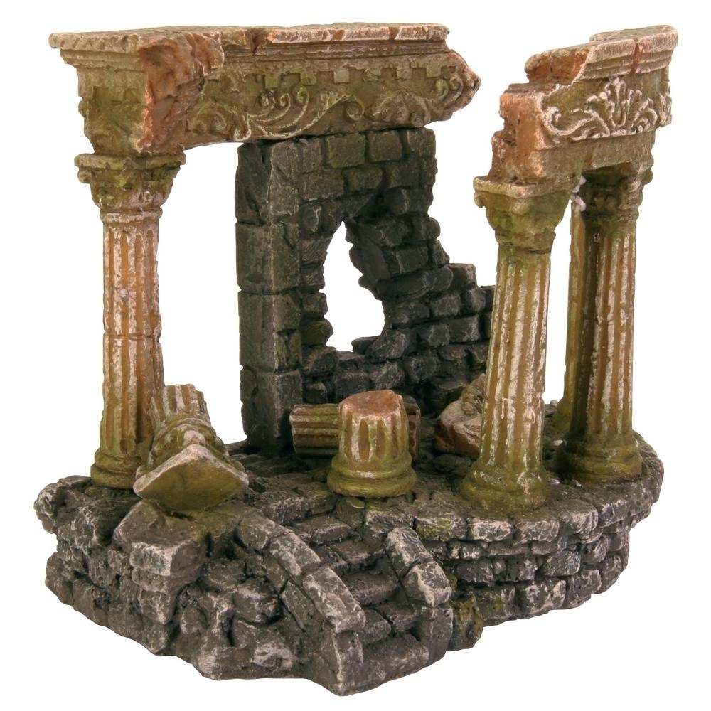 Trixie Römische Ruine, Aquarium Deko, 13 cm