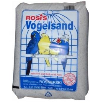 Zeus Rosis Vogelsand, 25 kg