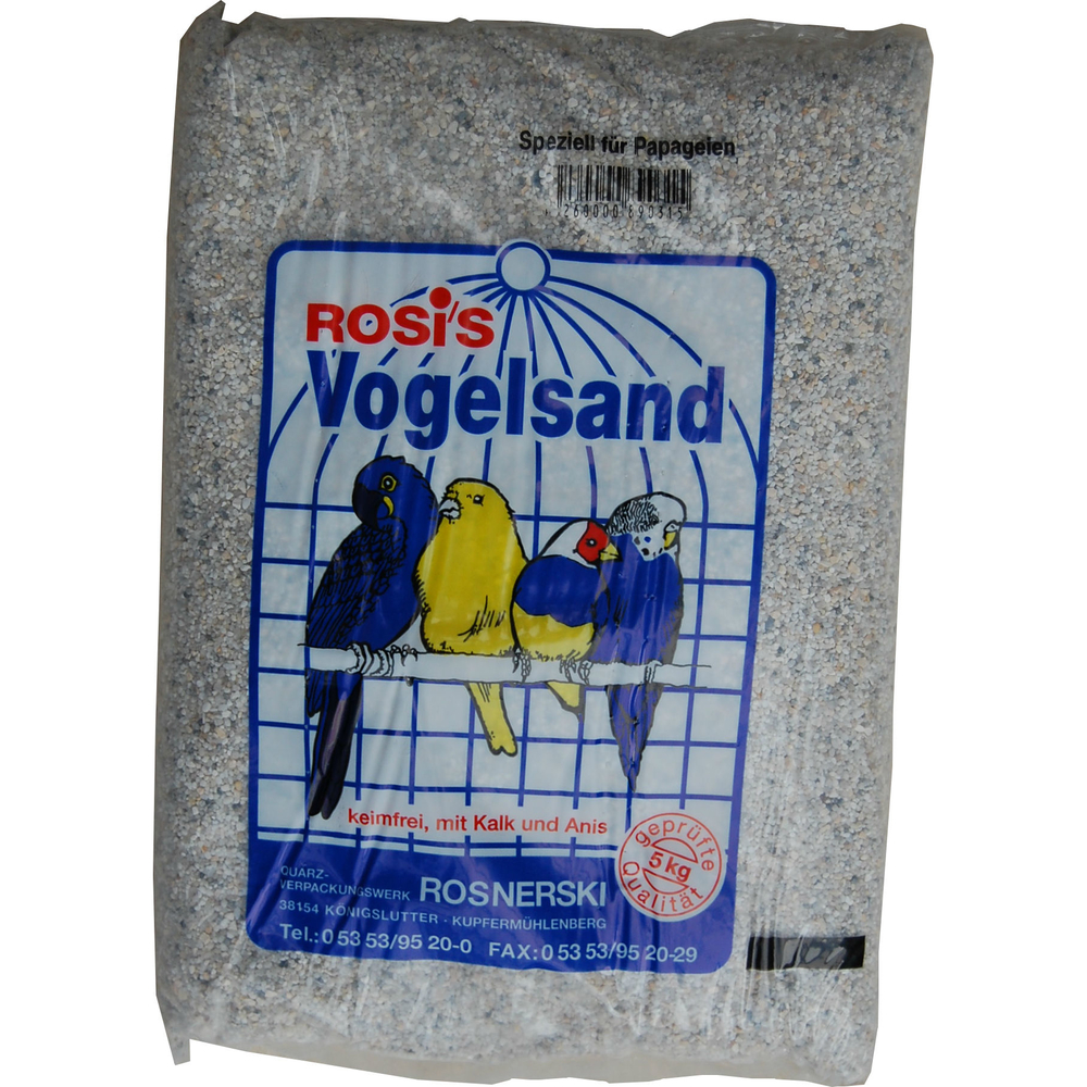 Zeus Rosis Vogelsand, 5 kg